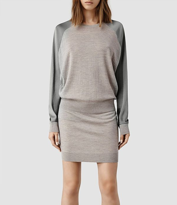 243a0788d1 Womens Agi Dress (Cement Marl Silver)