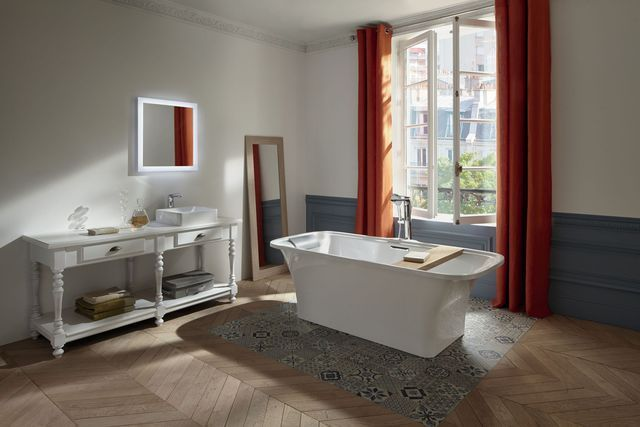 1000 id es propos de baignoire autoportante sur. Black Bedroom Furniture Sets. Home Design Ideas