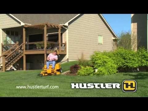 Hustler ZEON All-Electric mower