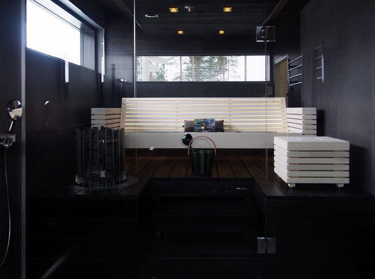 Sauna in Lakka Lakeus, Asuntomessut 2016 Seinäjoki