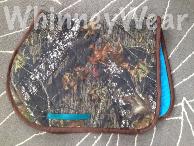 Camo English Saddle Pad By Whinneywear Www Whinneywear Com