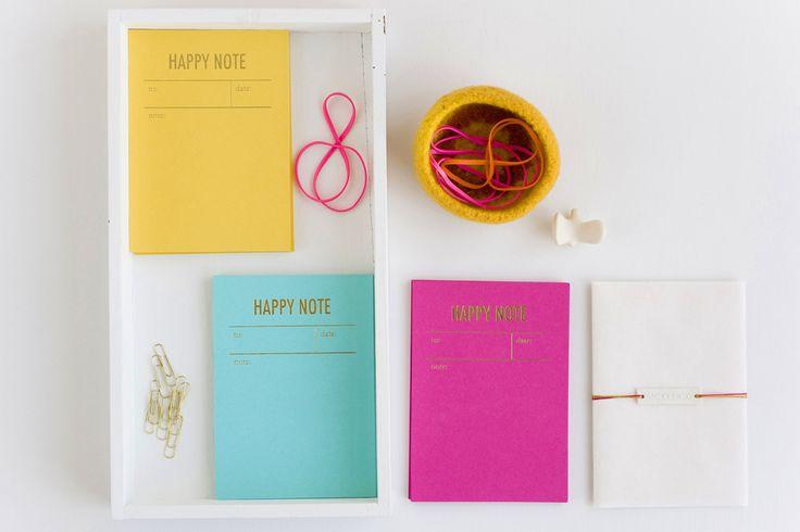 Happy notes by tokketok: Happy Notes, Colour, Graphic Design, Inspiration, Tokketok Portfolio, Colors, Paper, Note Cards