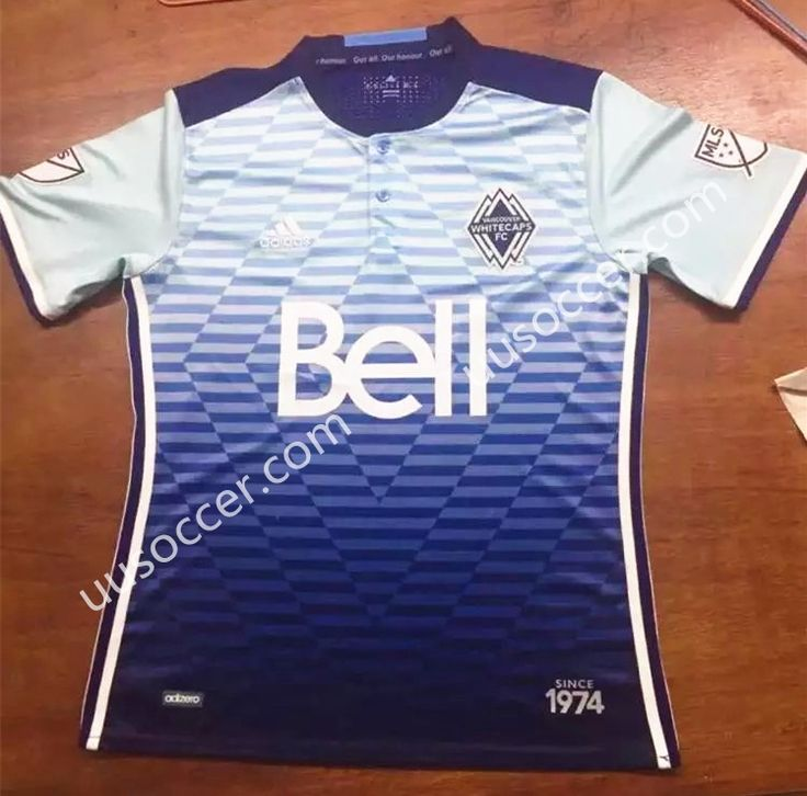 2016-17 Vancouver Whitecaps FC Home White Thailand Soccer Jersey AAA