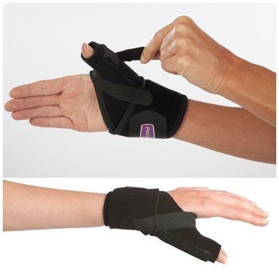 Procare Thumb Splint - Thumb Splint by Rolyn Prest. $42.20. (SEE AVAILABILITY ABOVE FOR ESTIMATED DELIVERY) - Procare Thumb Splint - Thumb Splint - Procare Thumb Splint - Universal wrap - around support with functional features to address a variety of pathologies including Gamekeeper's/Skier's Thumb, Basal Joint Arthritis & Thumb Tendonitis. Dorsal, radial & palmar stay pockets on thumb contain a malleable aluminum stay & spiral stay that can be removed or modified ...