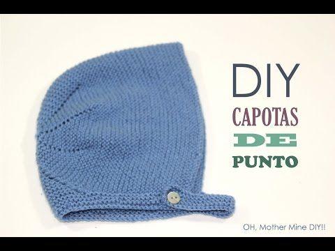 Blog costura y diy: Oh, Mother Mine DIY!!: DIY Tejer: Cómo hacer capotas de punto para bebés