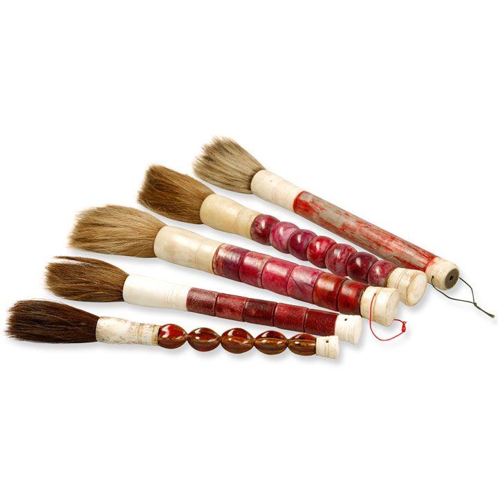 Chinese Calligraphy Brushes Decorative Stone Brushes