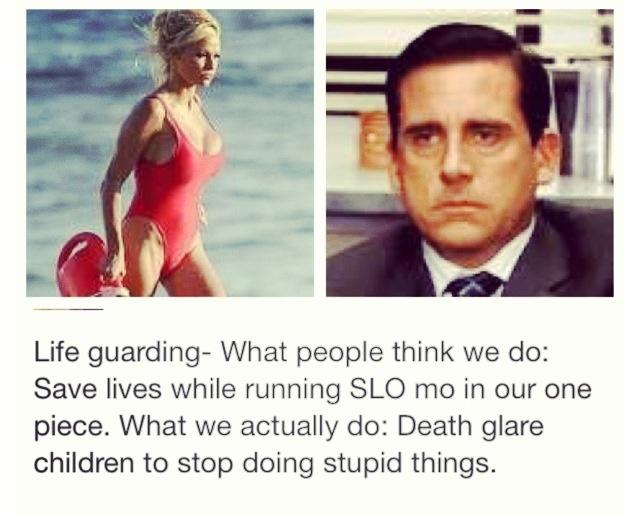 Lifeguard problems.