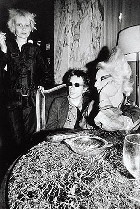 Vivienne Westwood, Johnny Rotten, Jordan