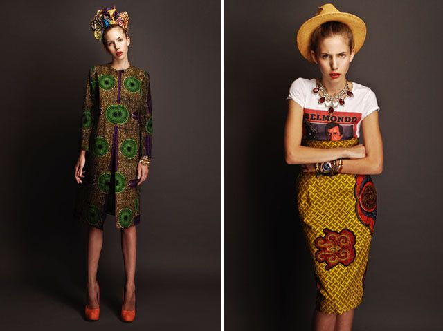 Inspired by her Creole heritage and her upbringing in Rome, Italian-Haitian designer Stella Jean merges both cultures with traditional wax prints and modern shapes.: Jeans Spring, Modern Africans Fashion Style, Stella Jeans, Africans Patterns, Africans Wear, Fashion Looks, Africans Dresses, Africans Prints, Design Stella