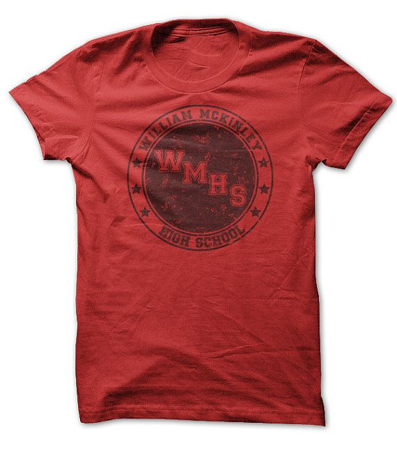 glee fan shirt william mckinley high school t shirt. Black Bedroom Furniture Sets. Home Design Ideas