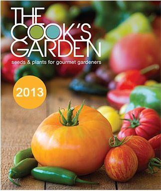 Free Catalog   The Cook\s Garden