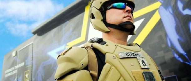 U.S. Army develops TALOS suit that hardens when hit by bullets