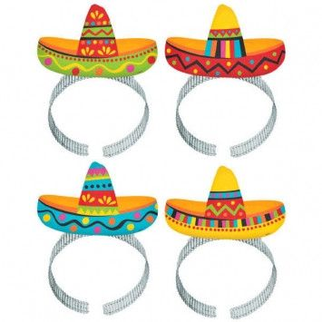 Cinco de Mayo Sombrero Headbands