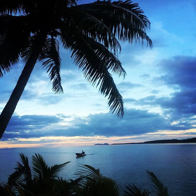 Just another gorgeous day at our hub in Fiji. #volunteer #gvi #wanderlust