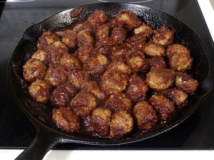 Spicy Cranberry Meatballs - gluten free, dairy free, paleo