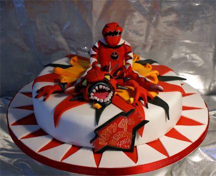 Red Ranger Cake