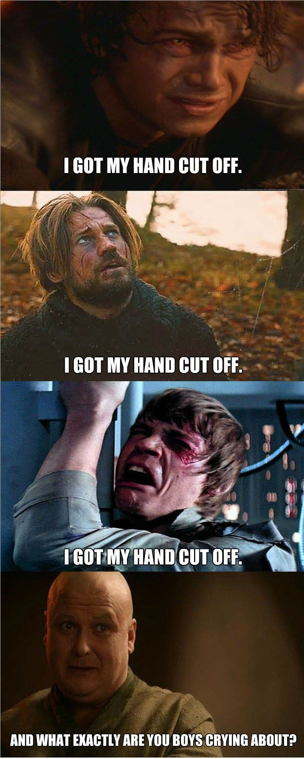 Game of Thrones vs. Star Wars