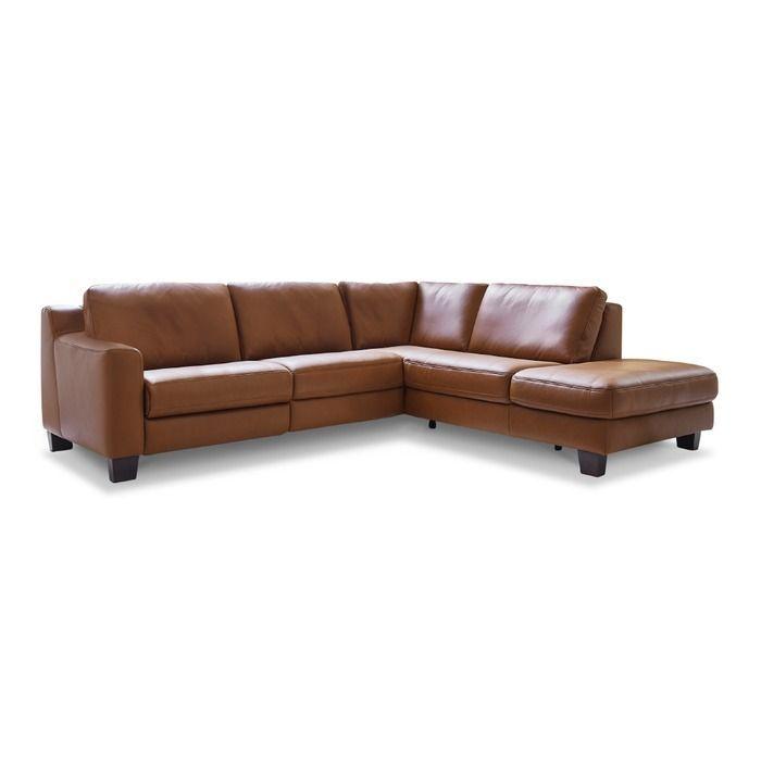 Hukla Ecksofa Sofaconcept Braun Leder In 2020 Corner Sofa Couch Corner Couch