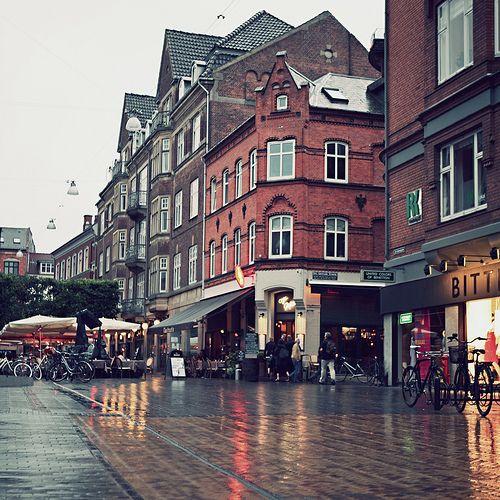 Odense In The Rain