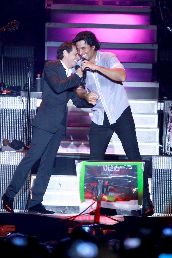 Marc and Chayanne, Puertorican pride!!!