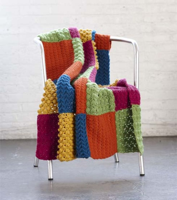 Crochet Sampler Throw   Crochet Throw   DIY Crochet ... - photo #47