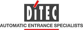 I serramenti automatici in alluminio Ditec, le caratteristiche e i sistemi di sicurezza ad essi legati.
