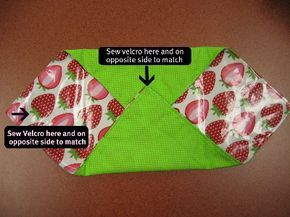 reusable sandwich bags from the Adult Craft Night: March Wrap-Up   City of Austin - Austin Public Library