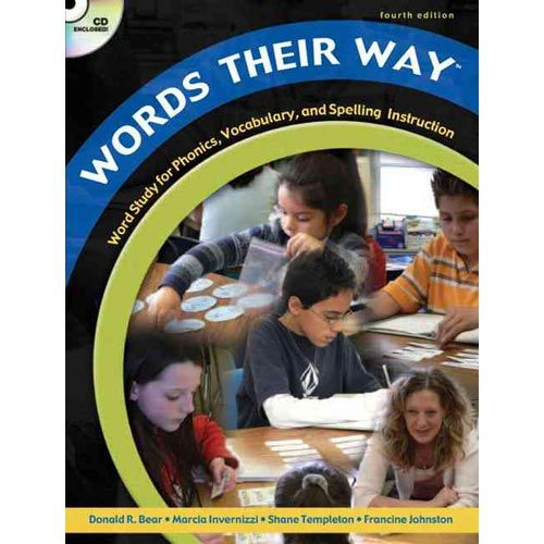 Developmentally Based Instructional Approach Which Uses Word Sorting Activities To Teach Phonics Spelling And