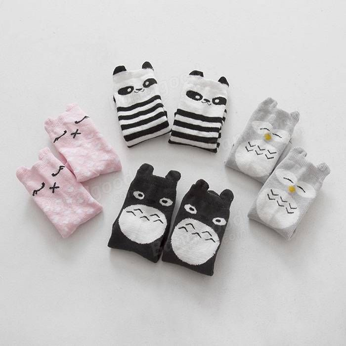 0 to 4 Years Toddlers Kids Baby Girls Winter Warm Dress Lovely Knee High Combed Cotton Socks Hosiery Stocking at Banggood