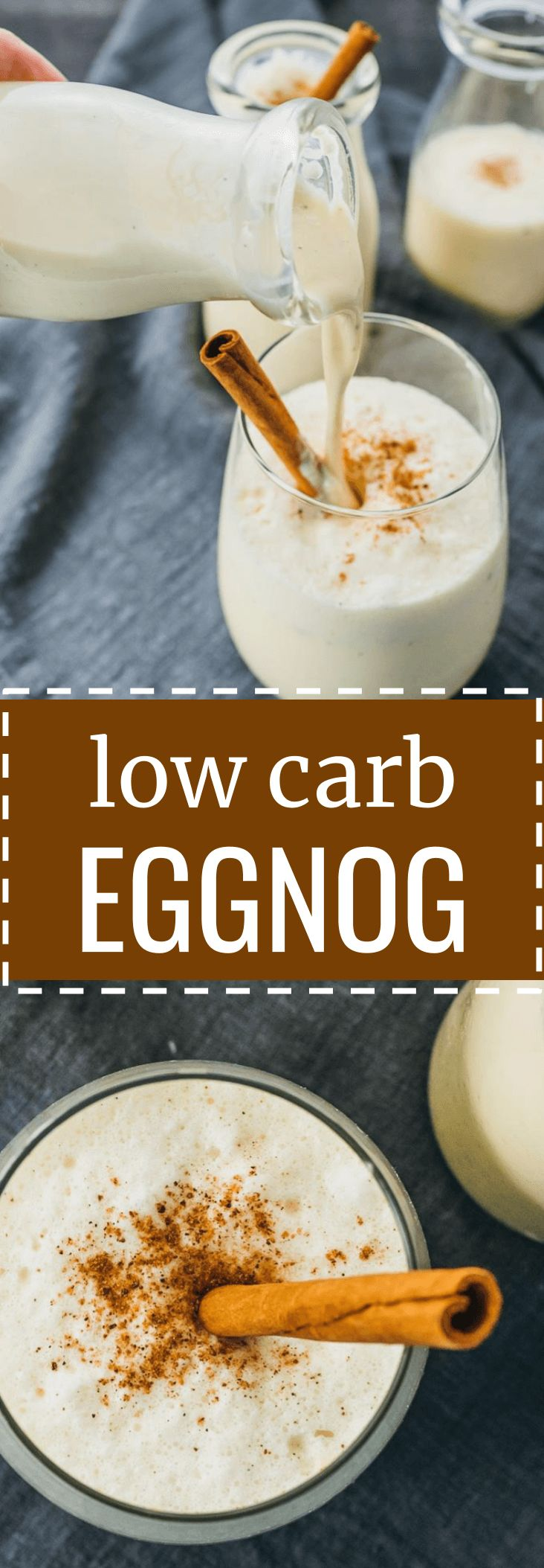 Easy low carb eggnog drink using almond milk. keto / low carb / diet / atkins / induction / meals / recipes / easy / dinner / lunch / foods / healthy / gluten free / recipe / drinks / cookies / alcohol / homemade / desserts / cocktail / spiked / rum / punch / dip / bourbon / breakfast / shots / christmas / gift / bottle / brownies / party / hot / holiday / thanksgiving / how to make / ingredients / non alcoholic / best / traditional / without alcohol #eggnog #keto #LowCarb