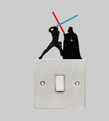 10 Ideas de decoración para los fans de Star Wars
