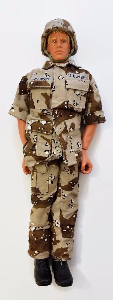 GI Joe Military Action Figure Pawtucket Blonde Hair w/ Clothing Belt Boots #Hasbro