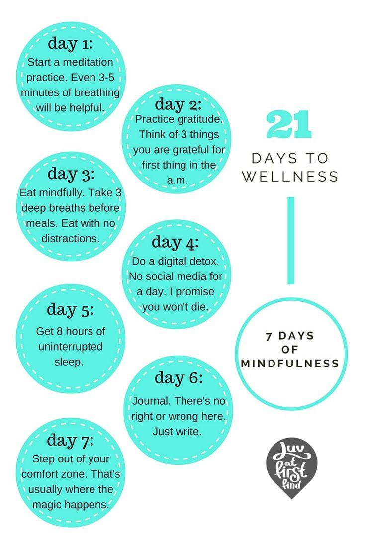 Wellness Wednesday: 21 Day Wellness Challenge http://luvatfirstfind.com/blog-1/laffwellness21days