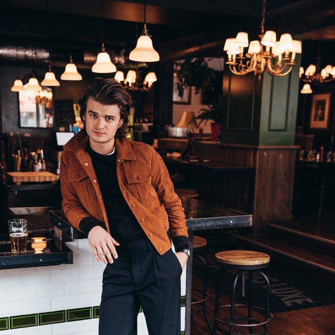 Stranger Things' Joe Keery on the Show's Second Season and His Now-Famous Head of Hair.