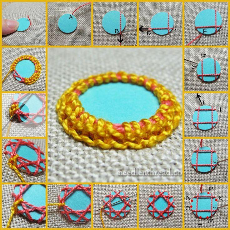 Preciosas cosas del corazón: Bordado shisha. Técnicas decorativas de María Korbet (Parte 2)