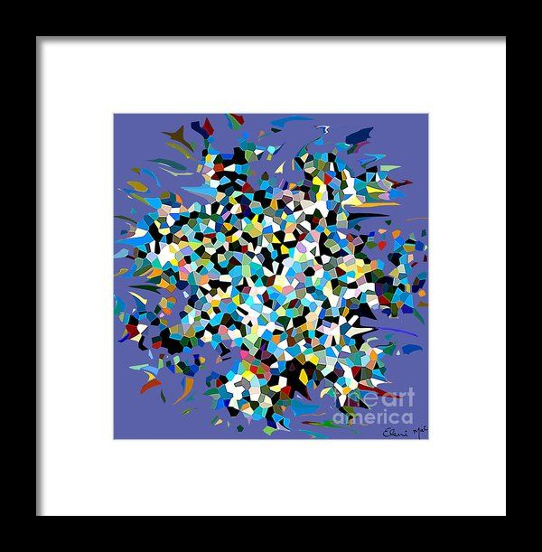 Splash Framed Print By Eleni Mac Synodinos