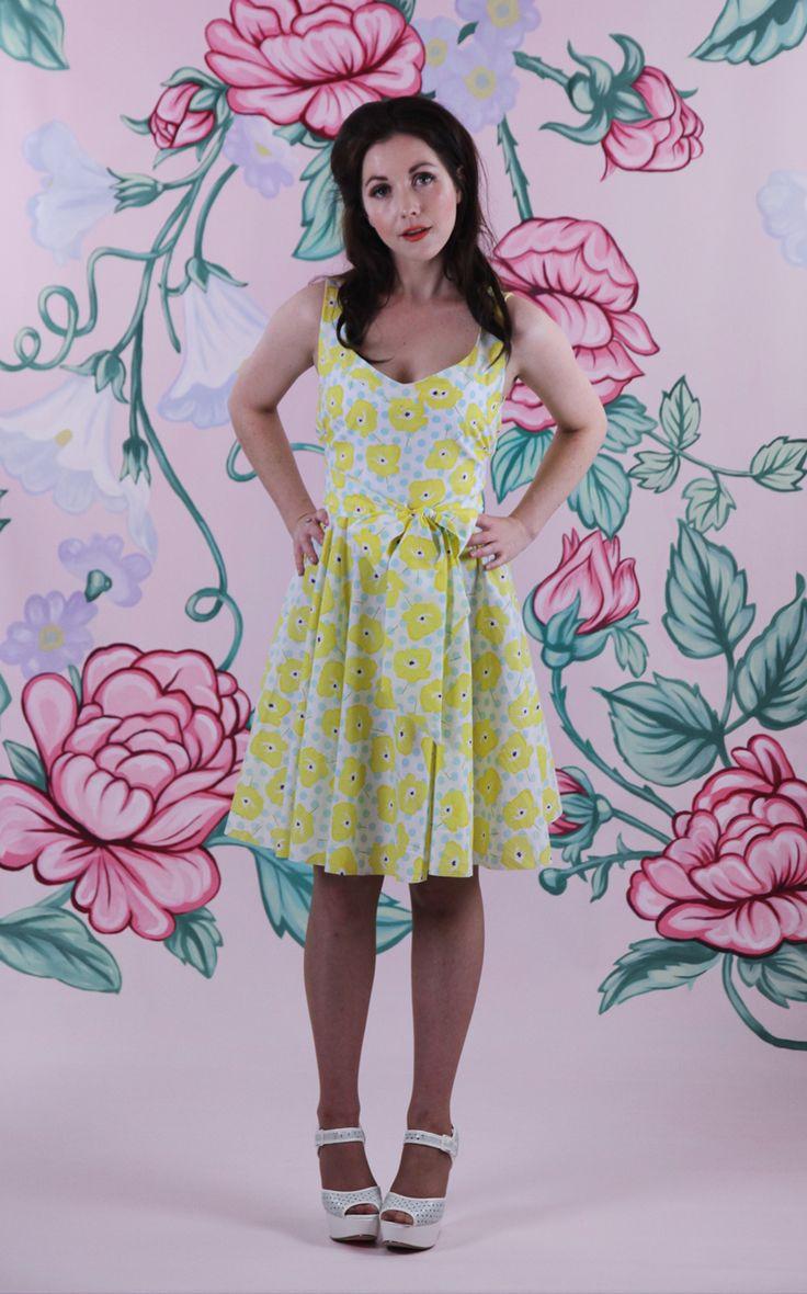 Harriett Falvey - Oh La La Dress - Pansy