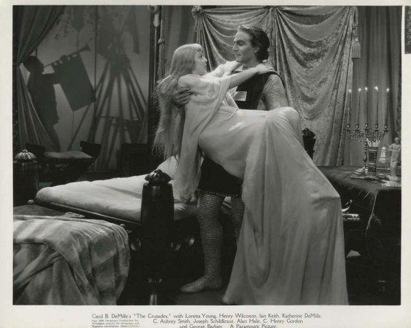 Loretta Young & Henry Wilcoxon - The Crusades