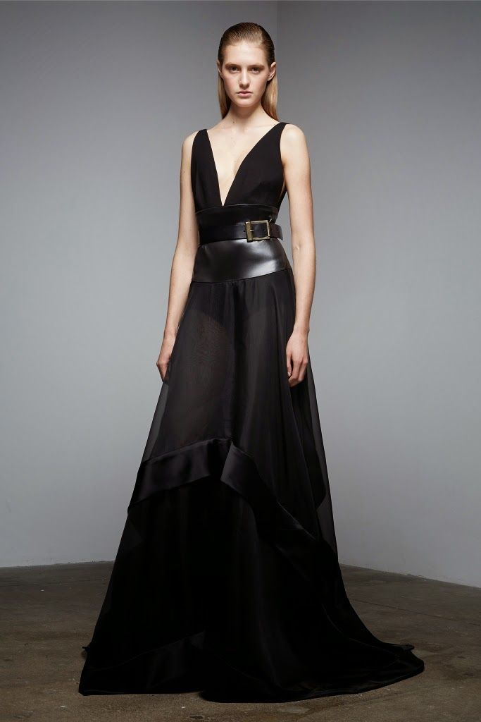 The Collections: Donna Karan Pre-Fall 2015 #Fashion #Pre-Fall2015 #FashionWeek #PreFall2015