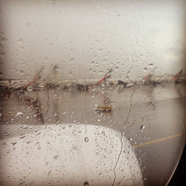 Raining in Heathrow