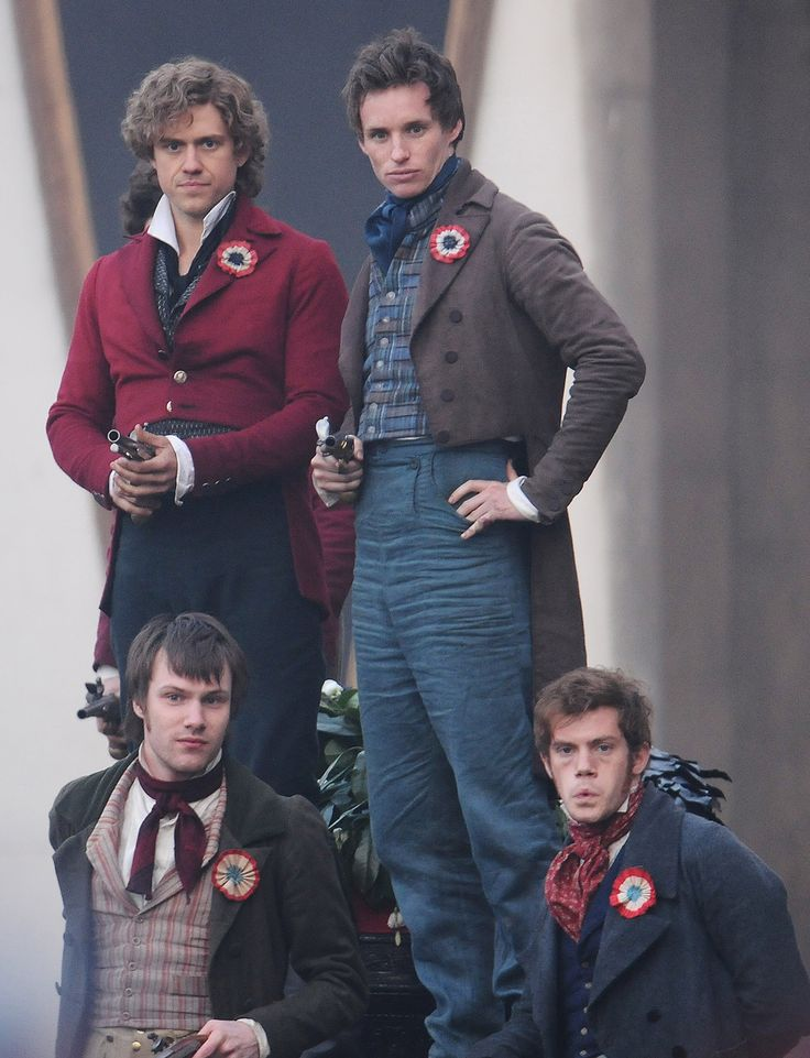 mm them barricade boys lookin' fiiine. except for the one on the bottom right. he's makin a monkey face.