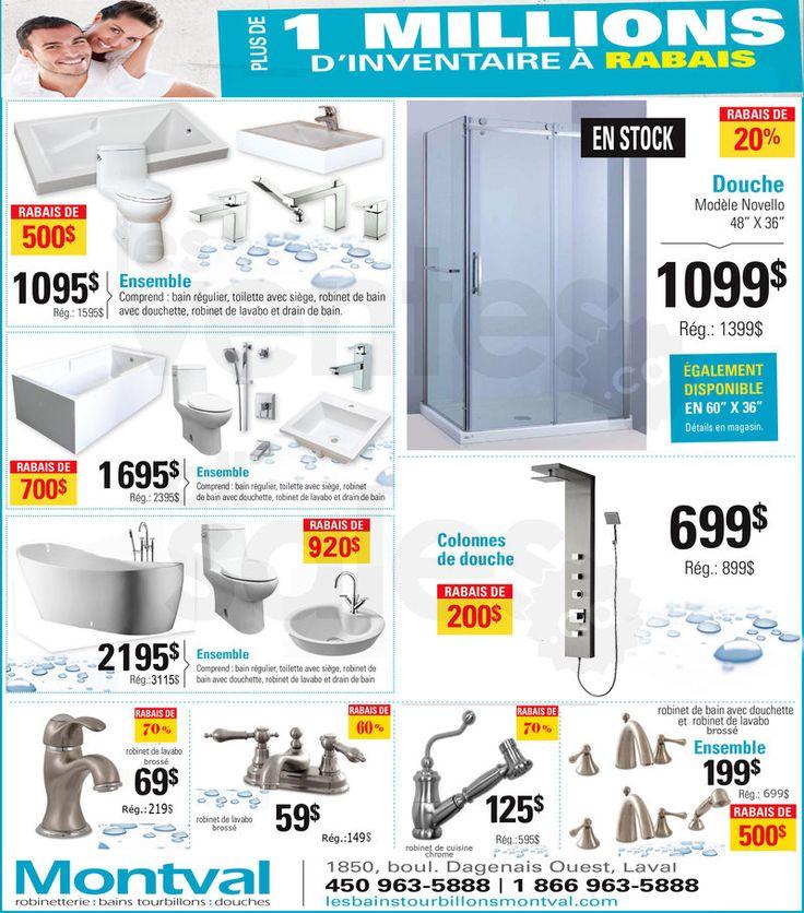 Robinetterie, bains, douches à rabais | lesventes.ca