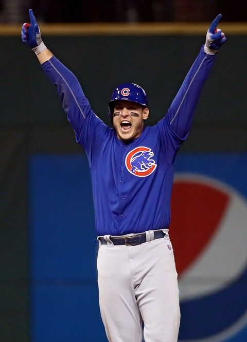 Rizzo and the Cubs win the World Series.