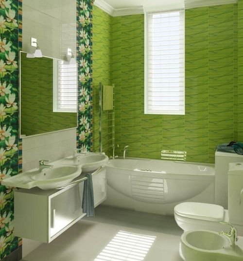 The 25 Best Ideas About Green Bathrooms Designs On Pinterest Green Bathroom Interior Green Bathrooms Inspiration And Green Small Bathrooms