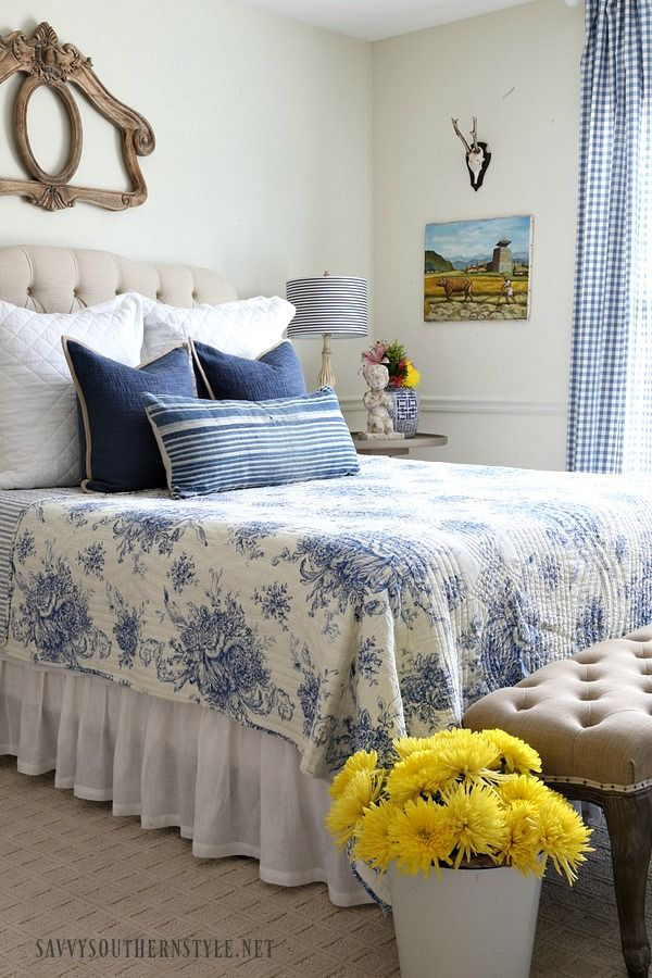 Savvy Southern Style: The French Style Guestroom.....Spring 2017