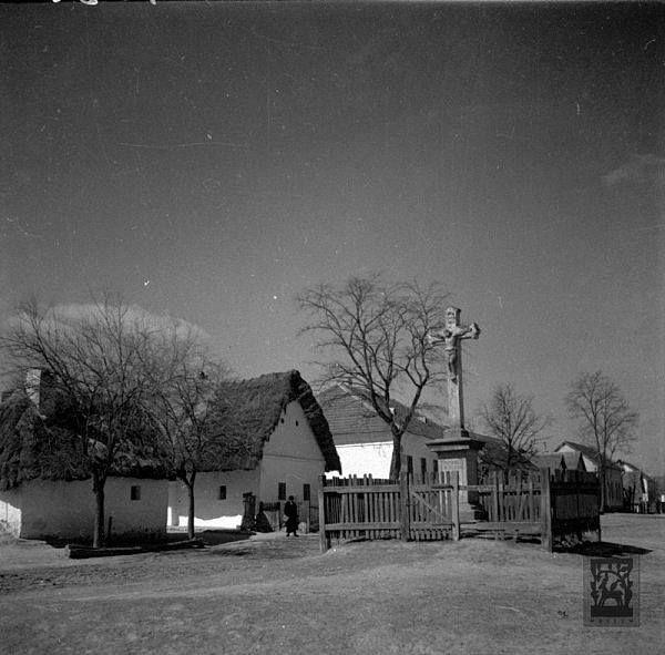 Utcarészlet, Patak (Nógrád m.), 1934
