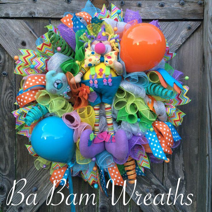 Birthday Wreath by Ba Bam Wreaths