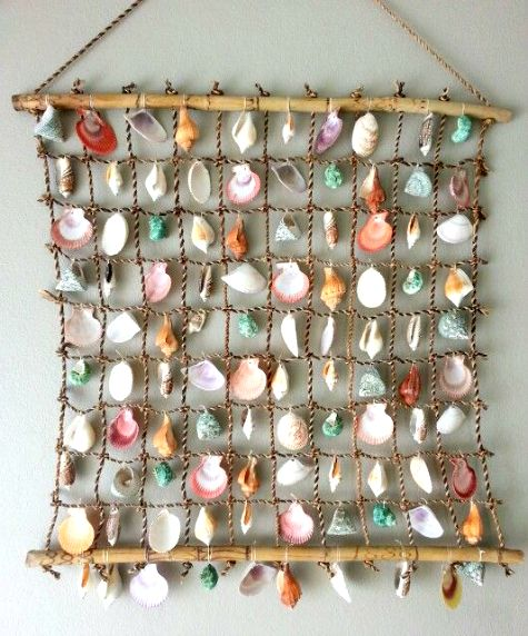 Sea Shell Wall Hanging Ideas