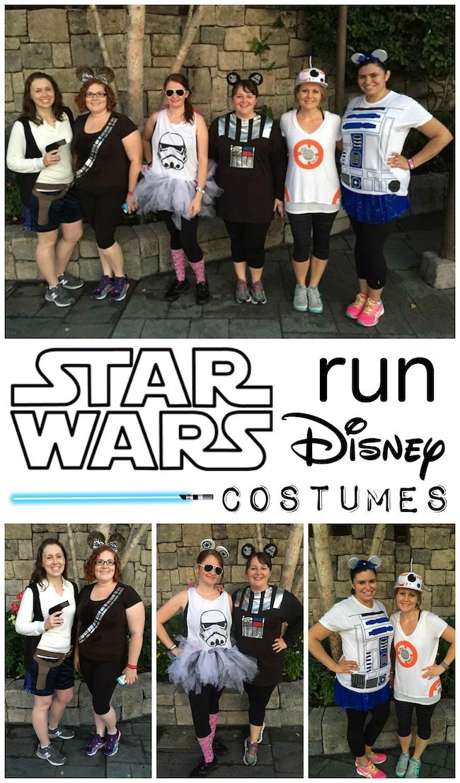Are you ready for the Run Disney Star Wars Half Marathon? Training & travel plans are important but don't forget about your Star Wars running costume.