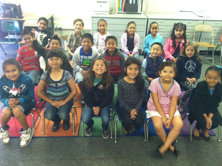 A class from Dr. Jonas Salk Elementary